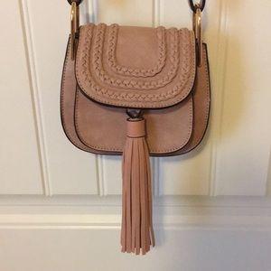 Handbags - The Mint Julep Boutique Rose pink shoulder purse
